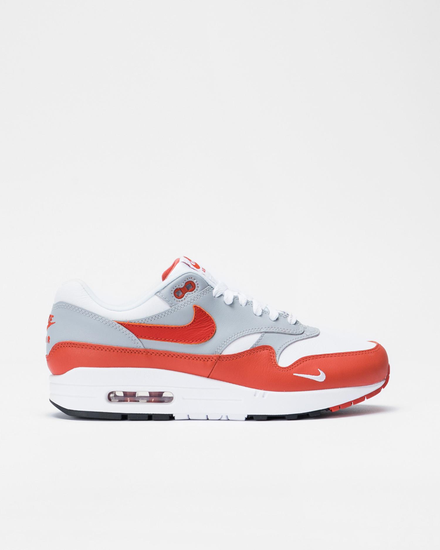 Nike air max 1 lv8 White/martian sunrise-wolf grey-black