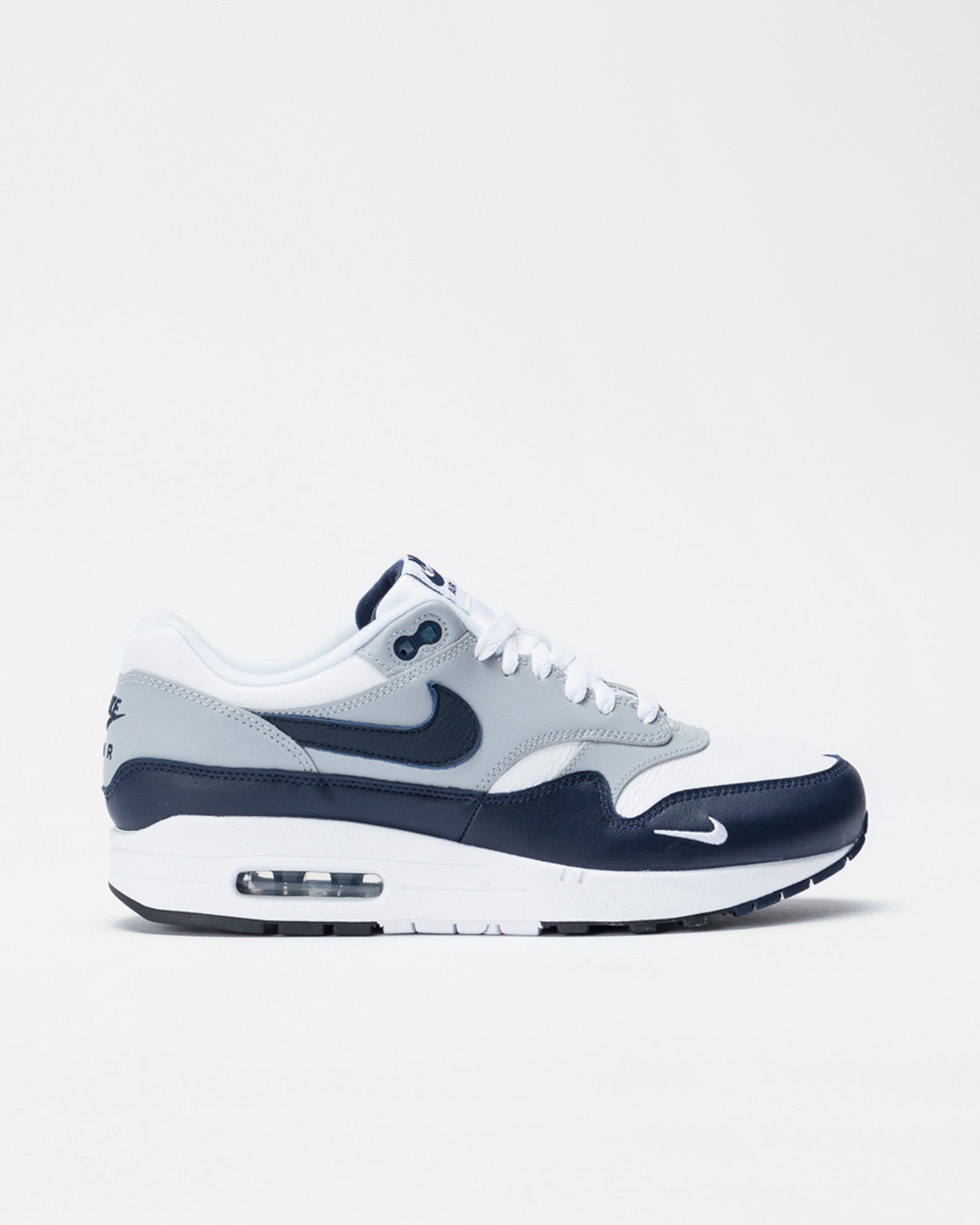 Nike air max 1 lv8 White/obsidian-wolf grey-black