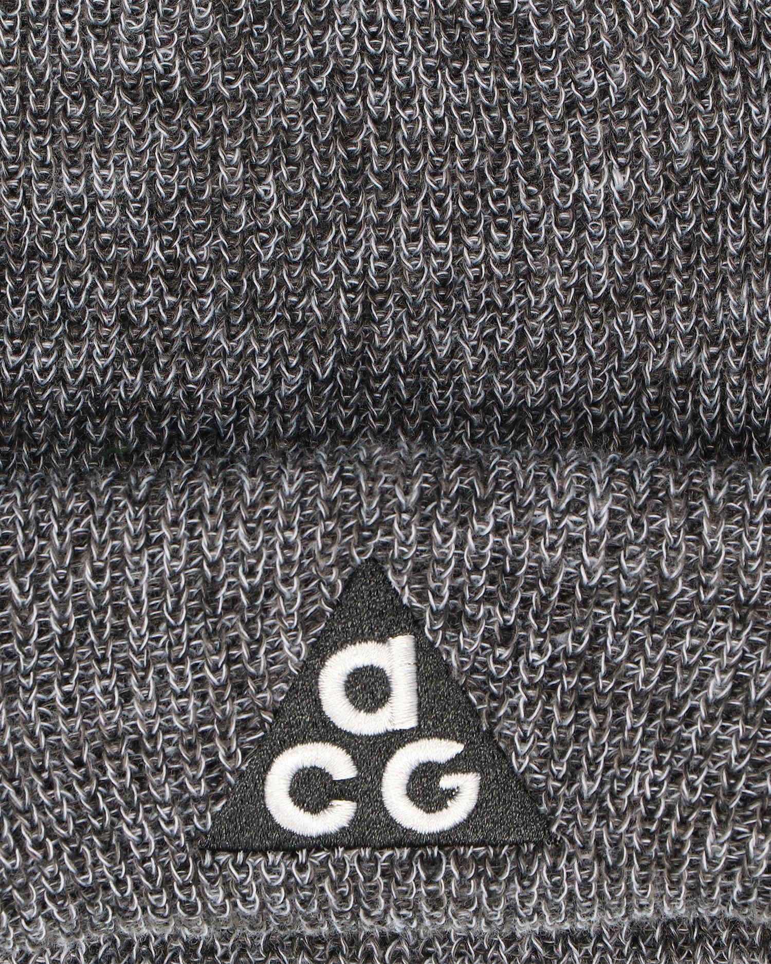 Nike NRG ACG beanie 3 in1  Black/Anthracite