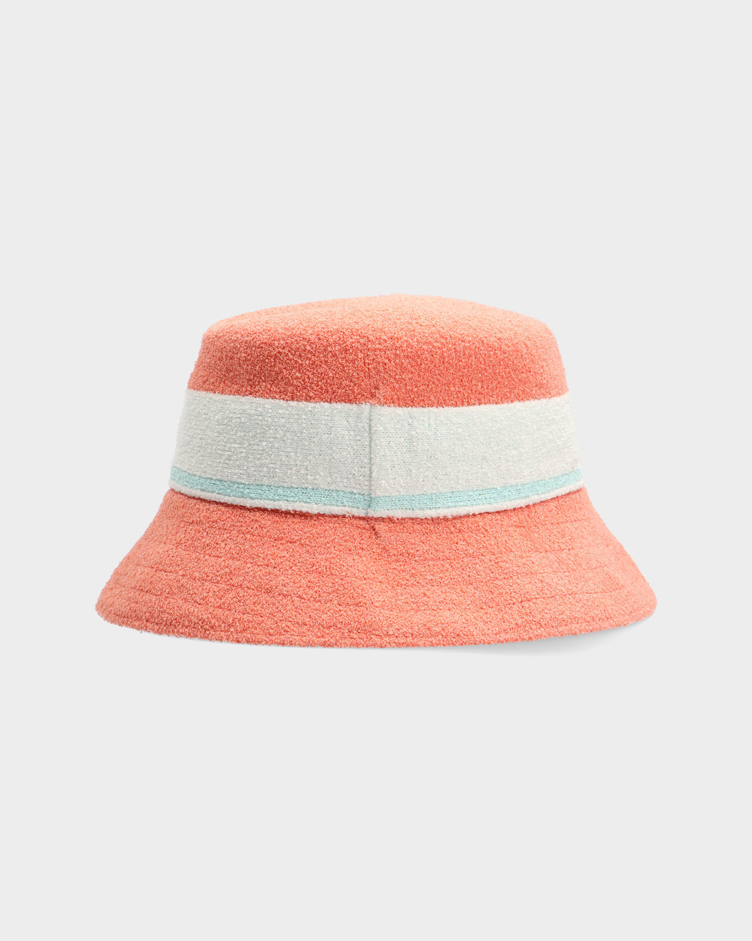Kangol Bermuda Stripe Bucket Peach