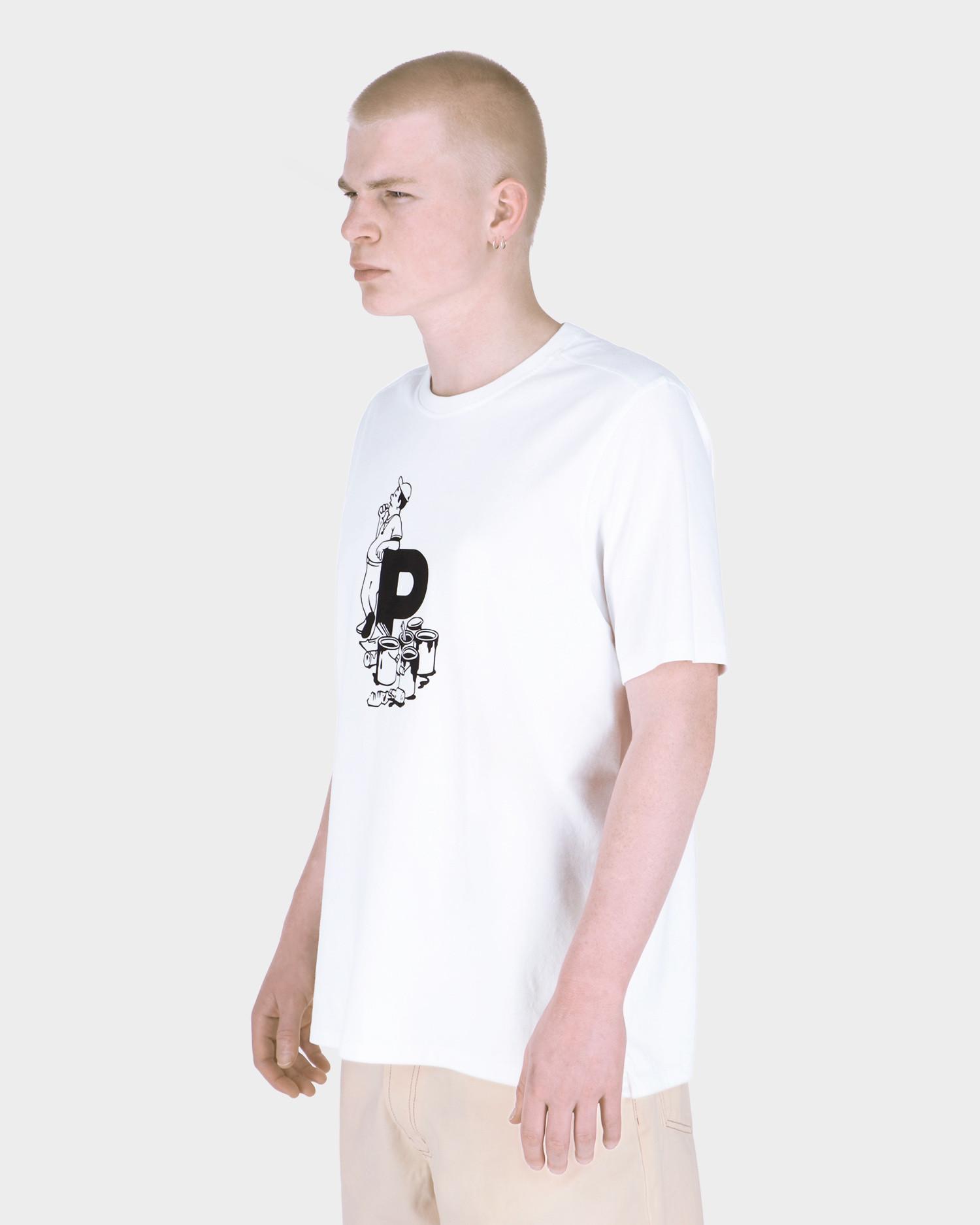 Pop Thomas Van Rijs T-Shirt White