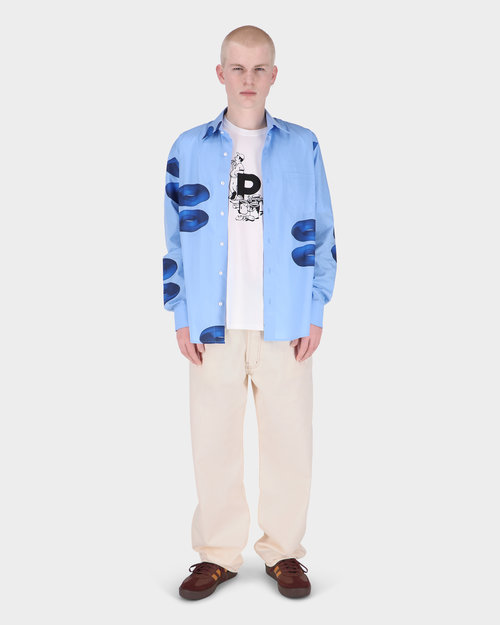 Pop Trading Co Pop Drs Denim Offwhite