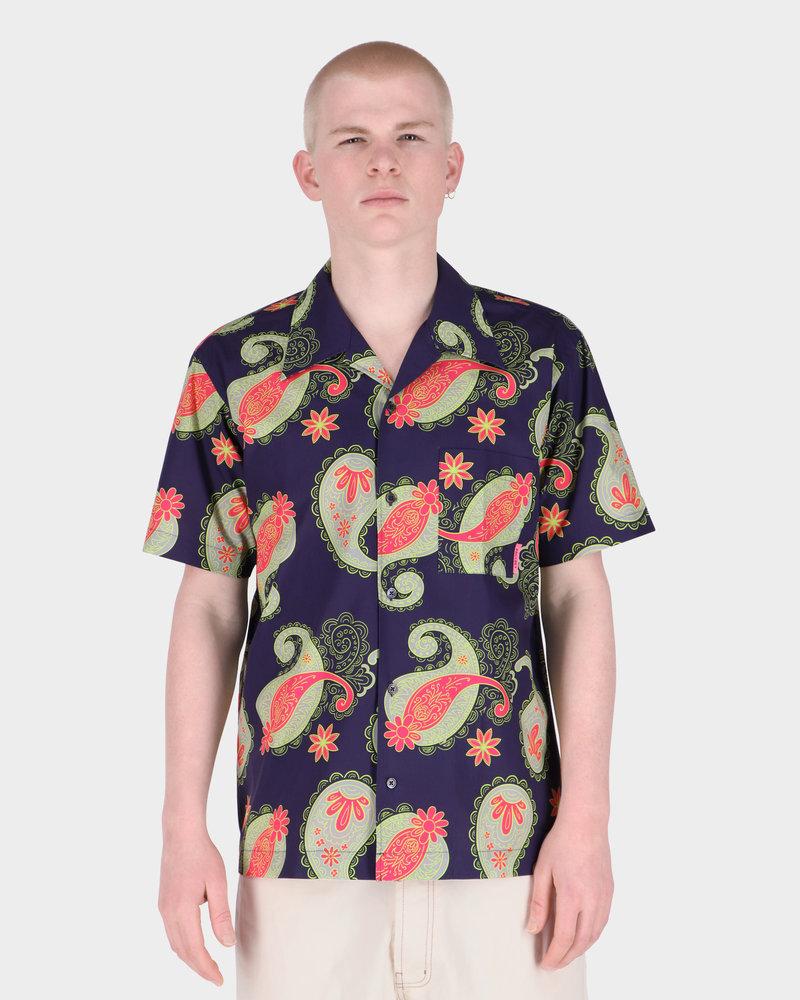 Paccbet Paccbet Men's Printed Poplin Shirt Paisley