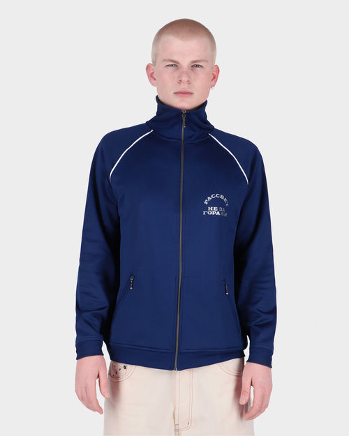 Paccbet Paccbet Men's 70's Zipped Tracktop Navy