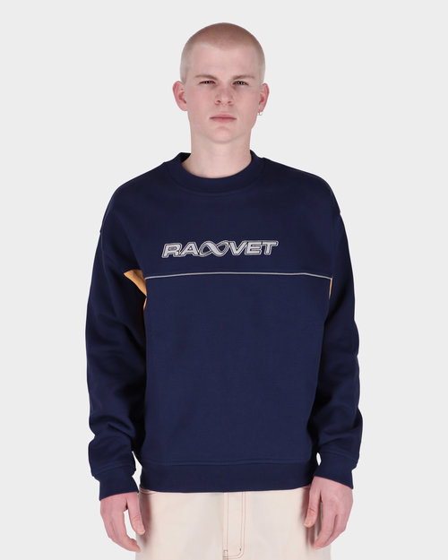 Paccbet Paccbet Men's Embroidered Sweatshirt Navy