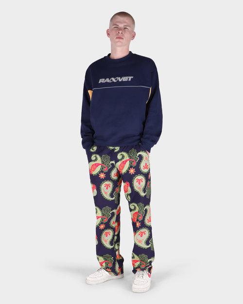 Paccbet Paccbet Men's Printed Poplin Pants Paisley