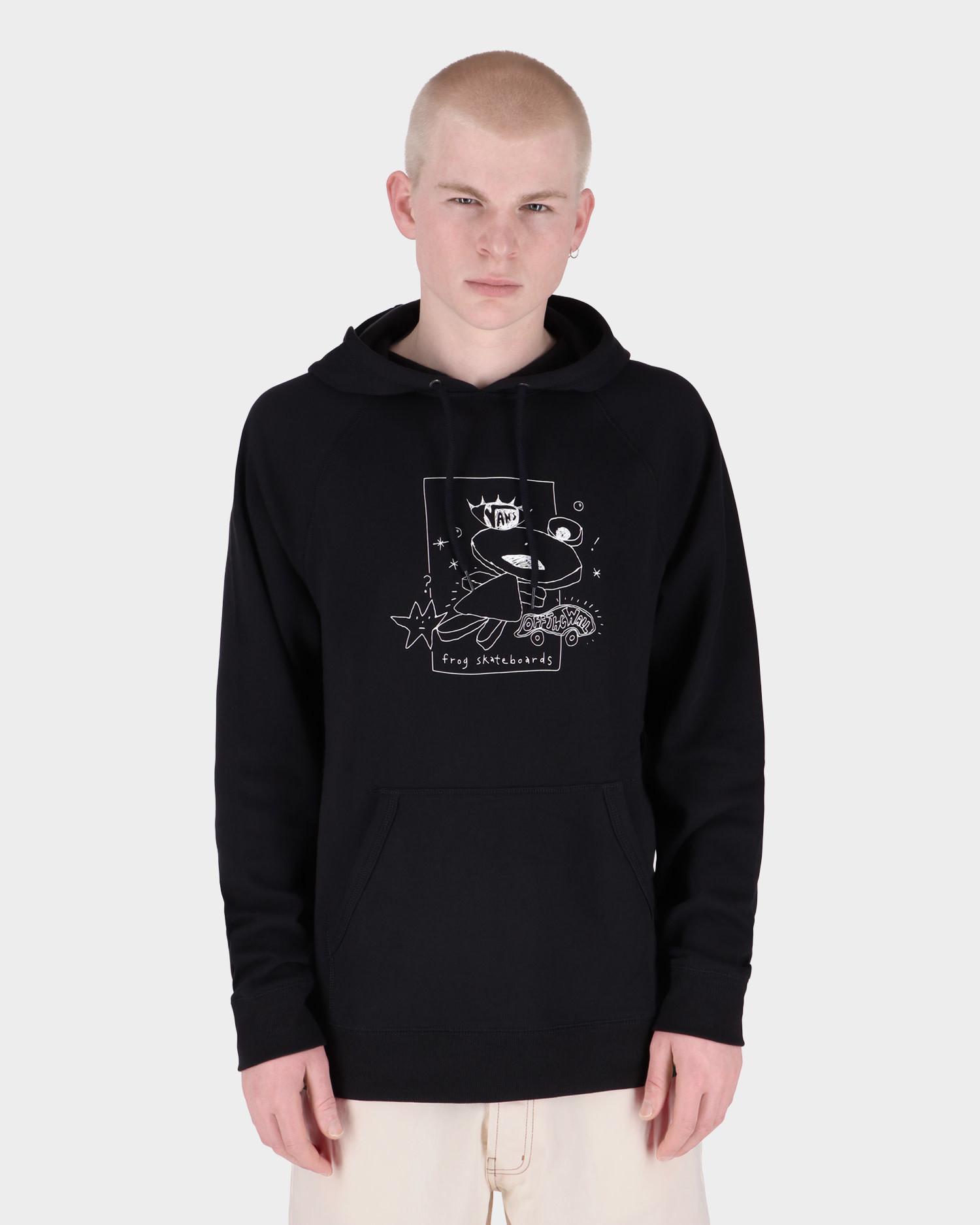 Vans X Frog skateboards Versa Hoodie Black