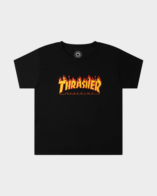 Thrasher Thrasher Youth Flame T-Shirt Black