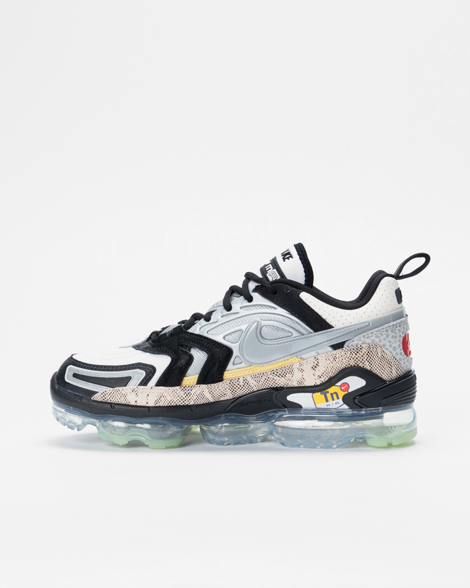 "Nike Air VaporMax EVO NRG ""Collector's Closet"" Black/Clear-Metallic Silver-White"