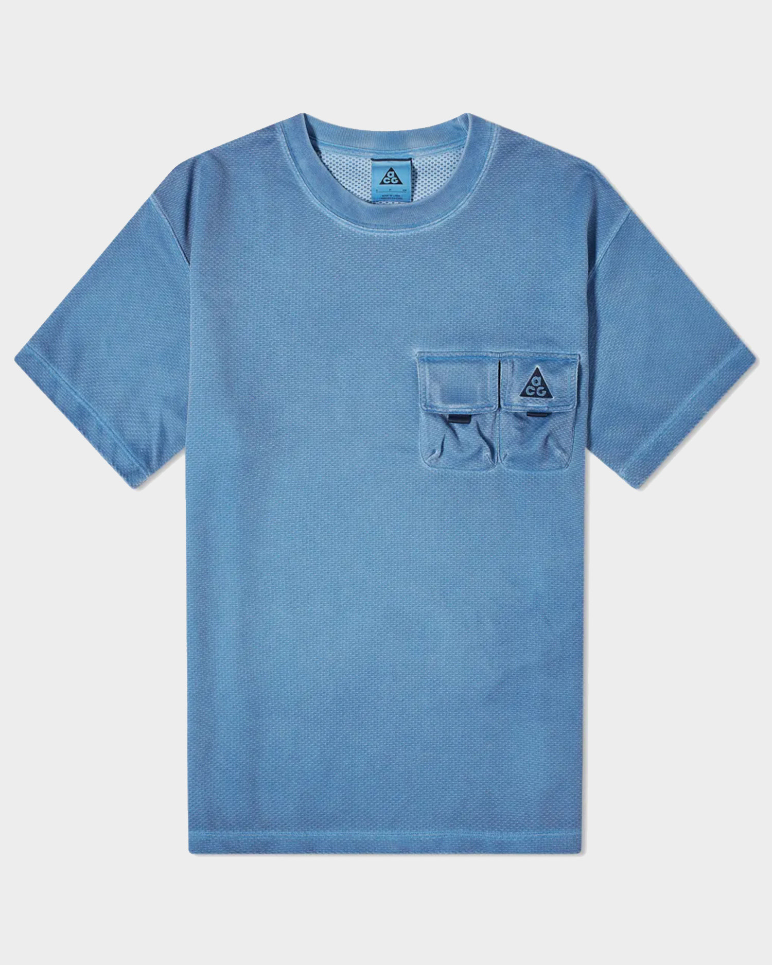 Nike ACG Watchman Peak T-Shirt Blue Void
