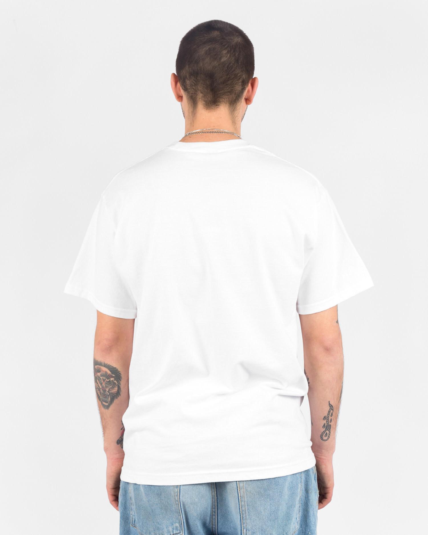 Lockwood OG Varsity T-shirt White/Red