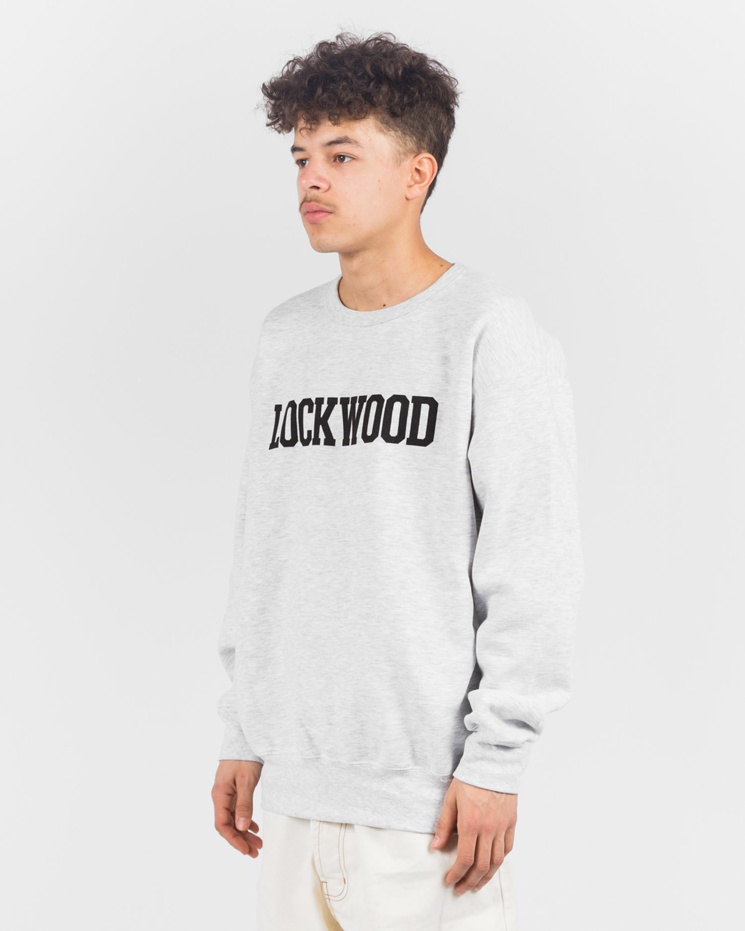 Lockwood OG Varsity Crewneck Grey/Black