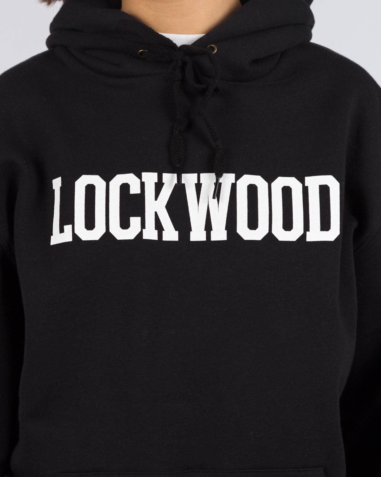 Lockwood OG Varsity Hoodie Black/White