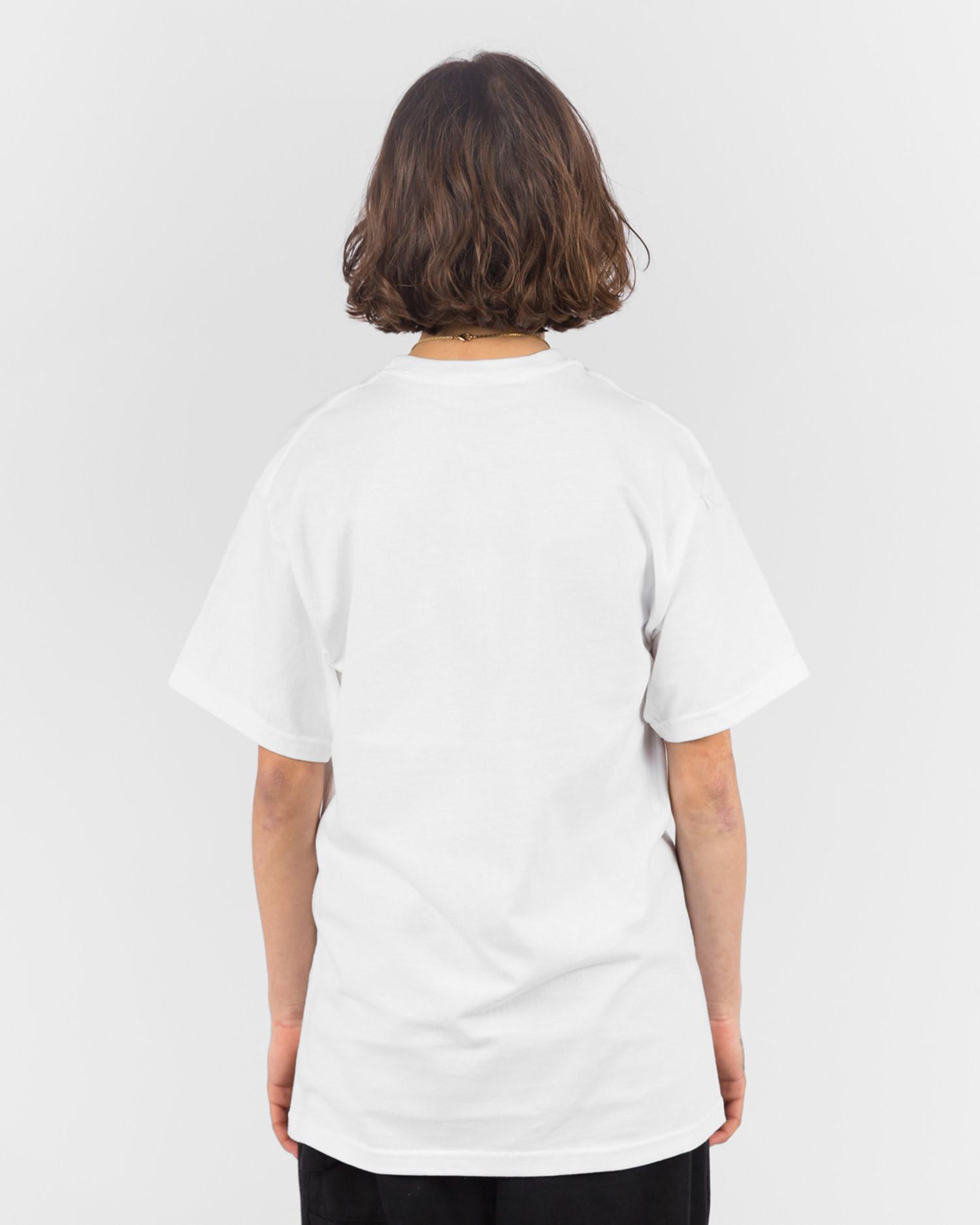 Lockwood LW Varsity T-shirt White/Black
