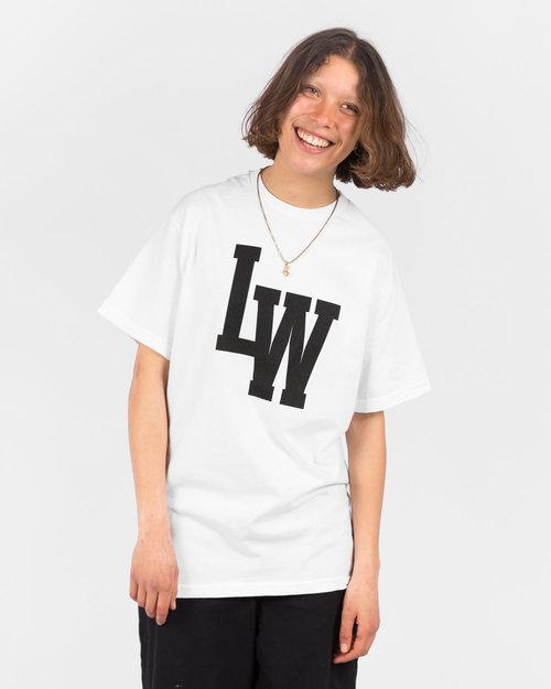 Lockwood Lockwood LW Varsity T-shirt White/Black