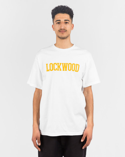 Lockwood Lockwood OG Varsity T-shirt White/Yellow