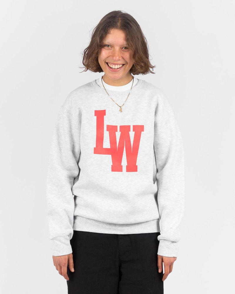 Lockwood Lockwood LW Varsity Crewneck Grey/Red