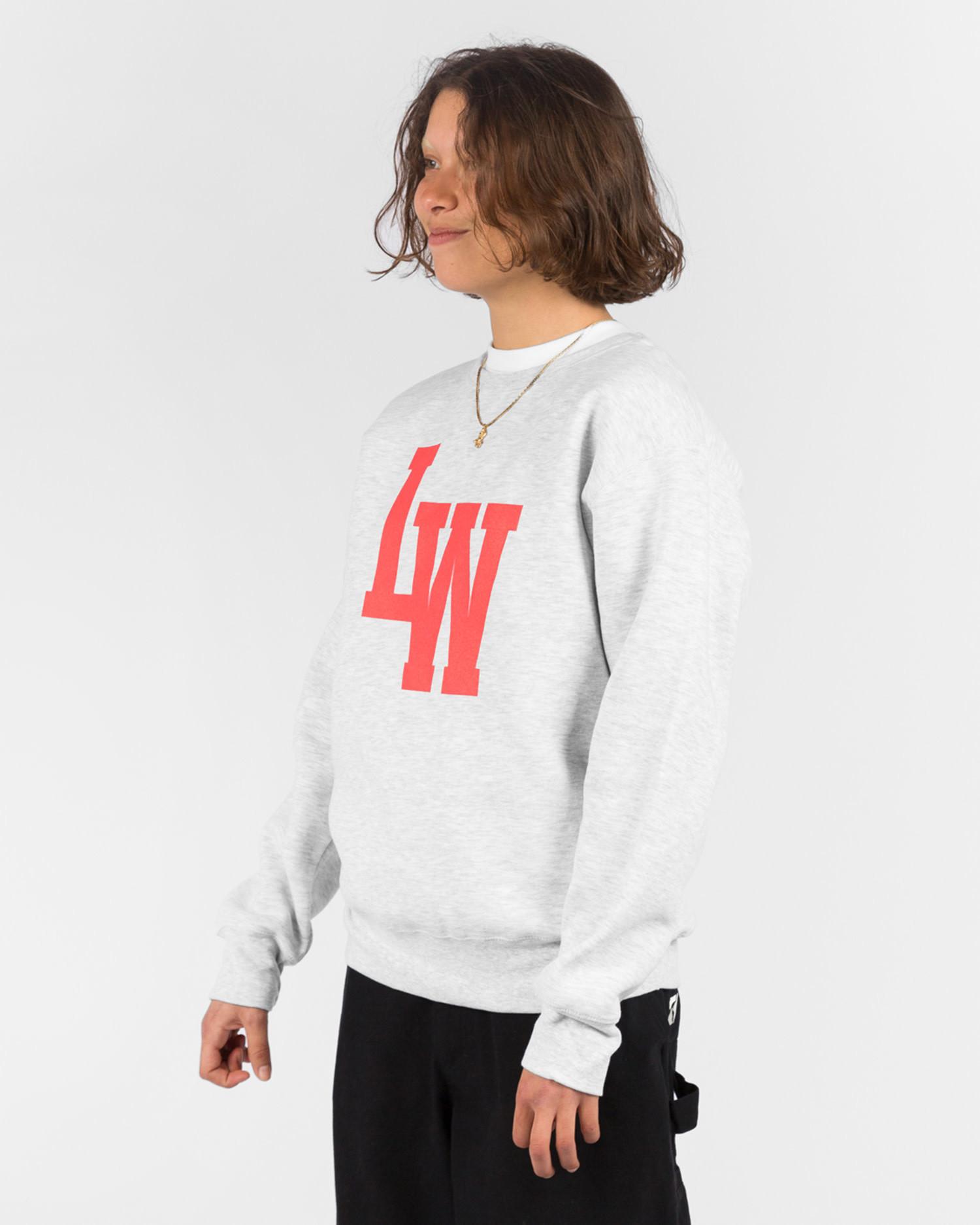 Lockwood LW Varsity Crewneck Grey/Red