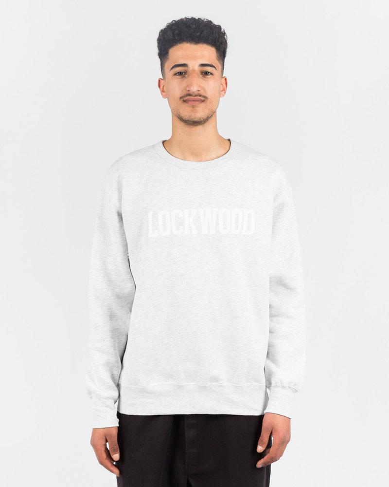 Lockwood Lockwood OG Varsity Crewneck Grey/White