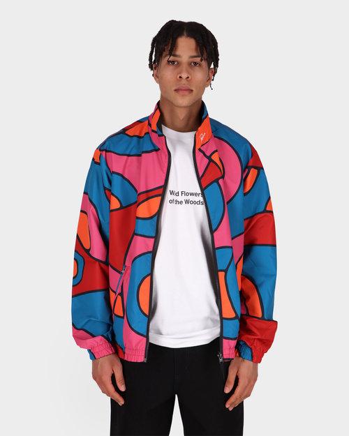 Parra Parra Reversible serpent track jacket Multi