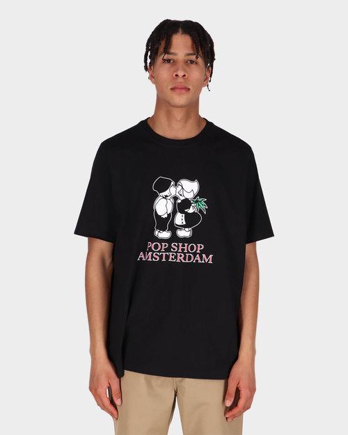Pop Trading Co POP Trading Amsterdam T-shirt Black