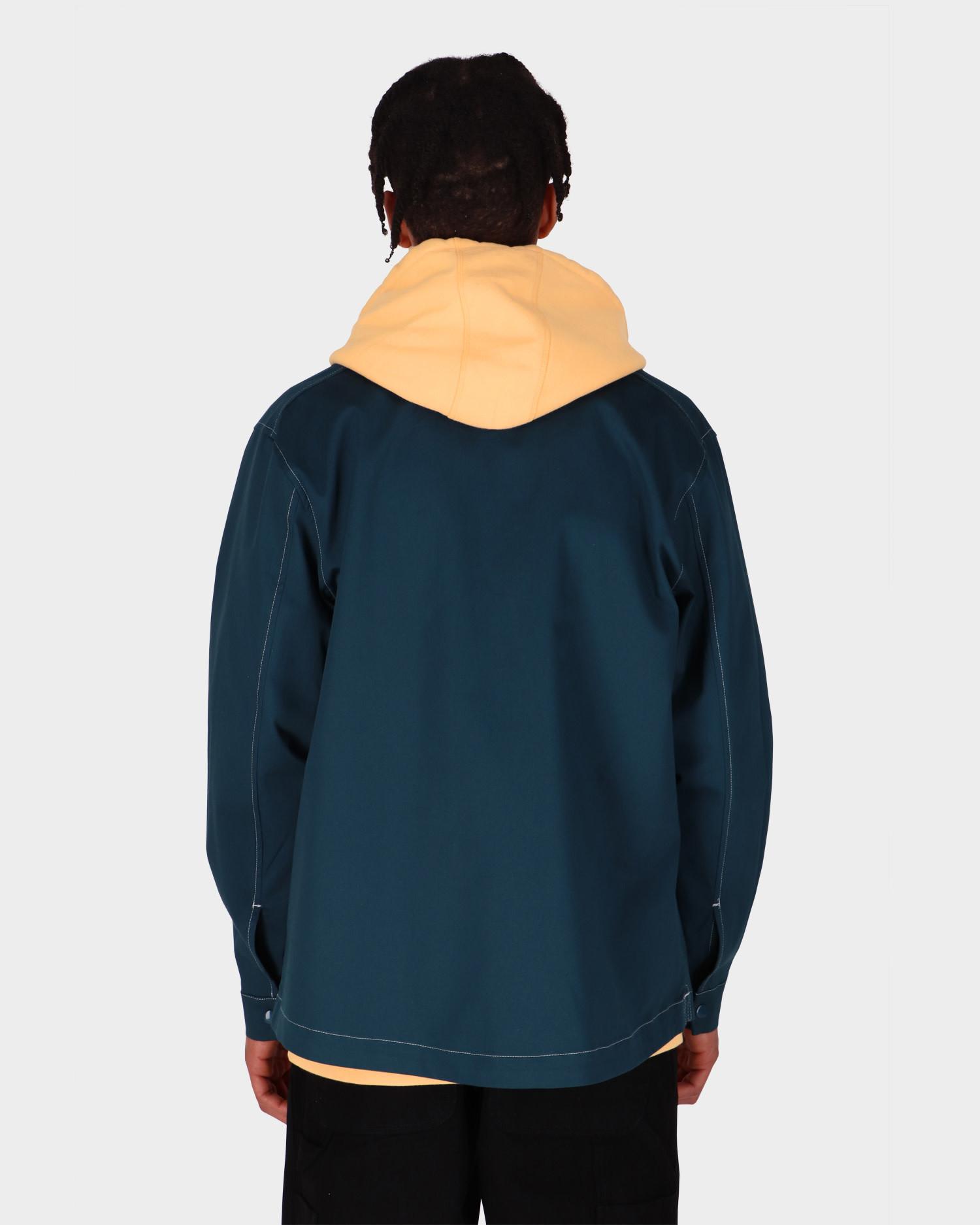 POP Trading Big Pocket Overshirt Dark Teal