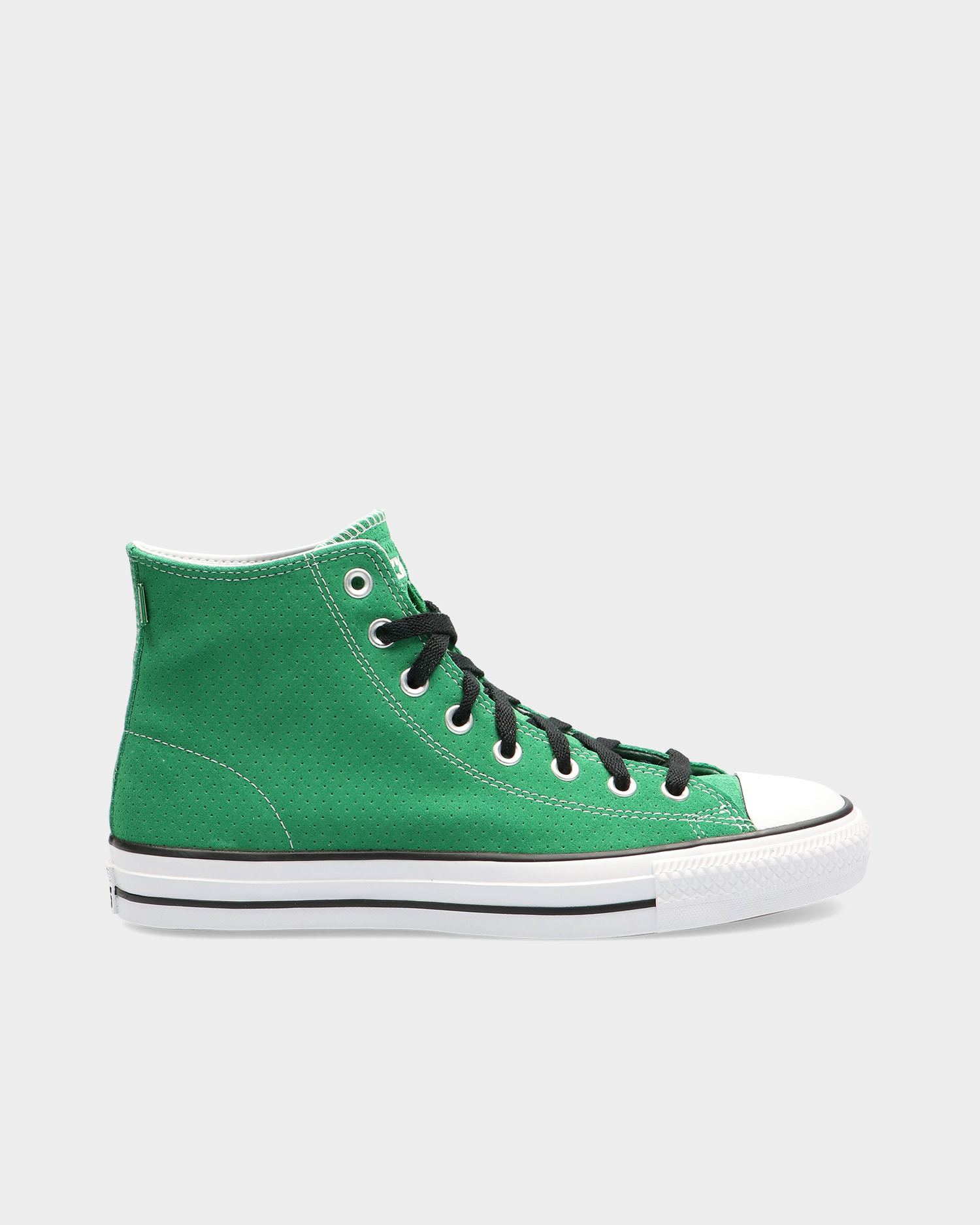 Converse Chuck Taylor All Star Pro Embossed Suede Hi Green/Black/White