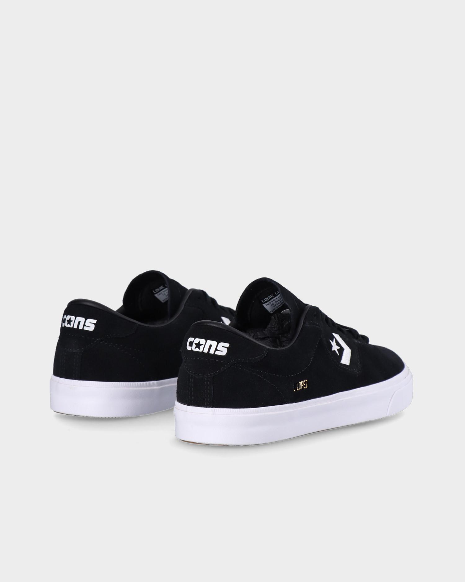 Converse Louie Lopez Pro OX Black/Black/White