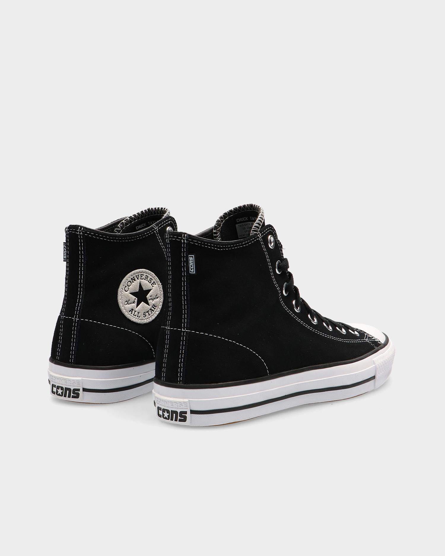 Converse Ctas Pro Hi Black/Black/White