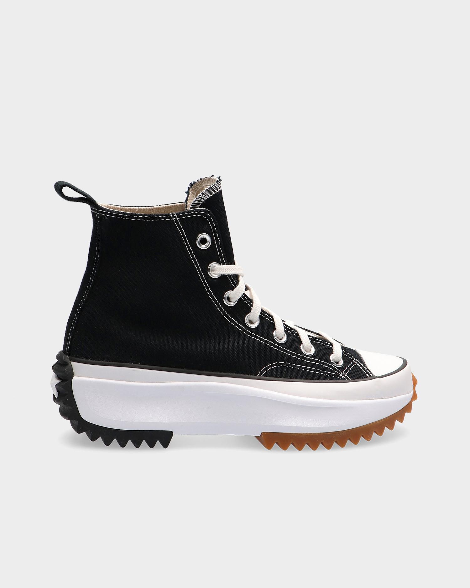 Converse Run Star Hike Lugged - Black/White/Gum