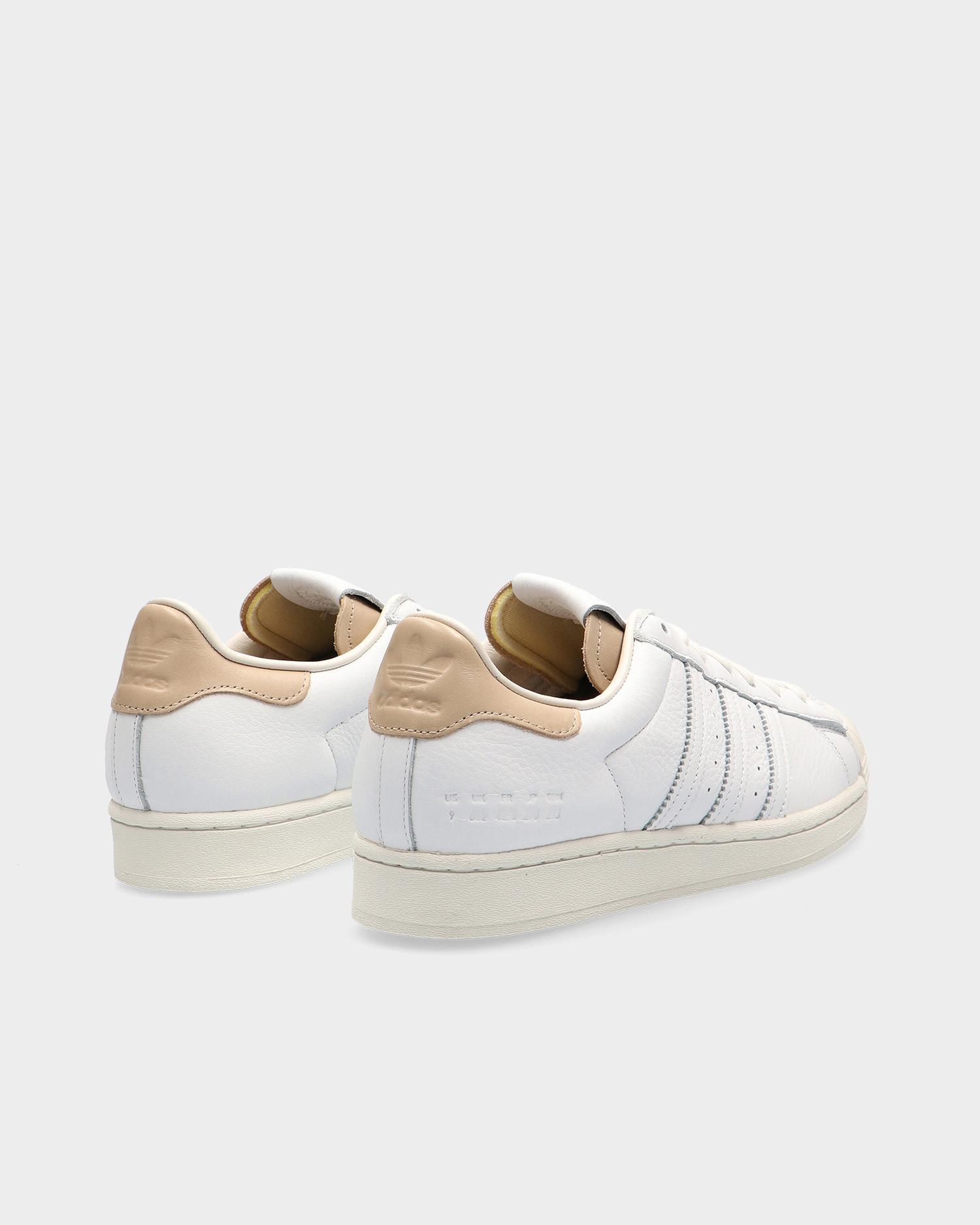 Adidas Superstar White/Off White/Blacas