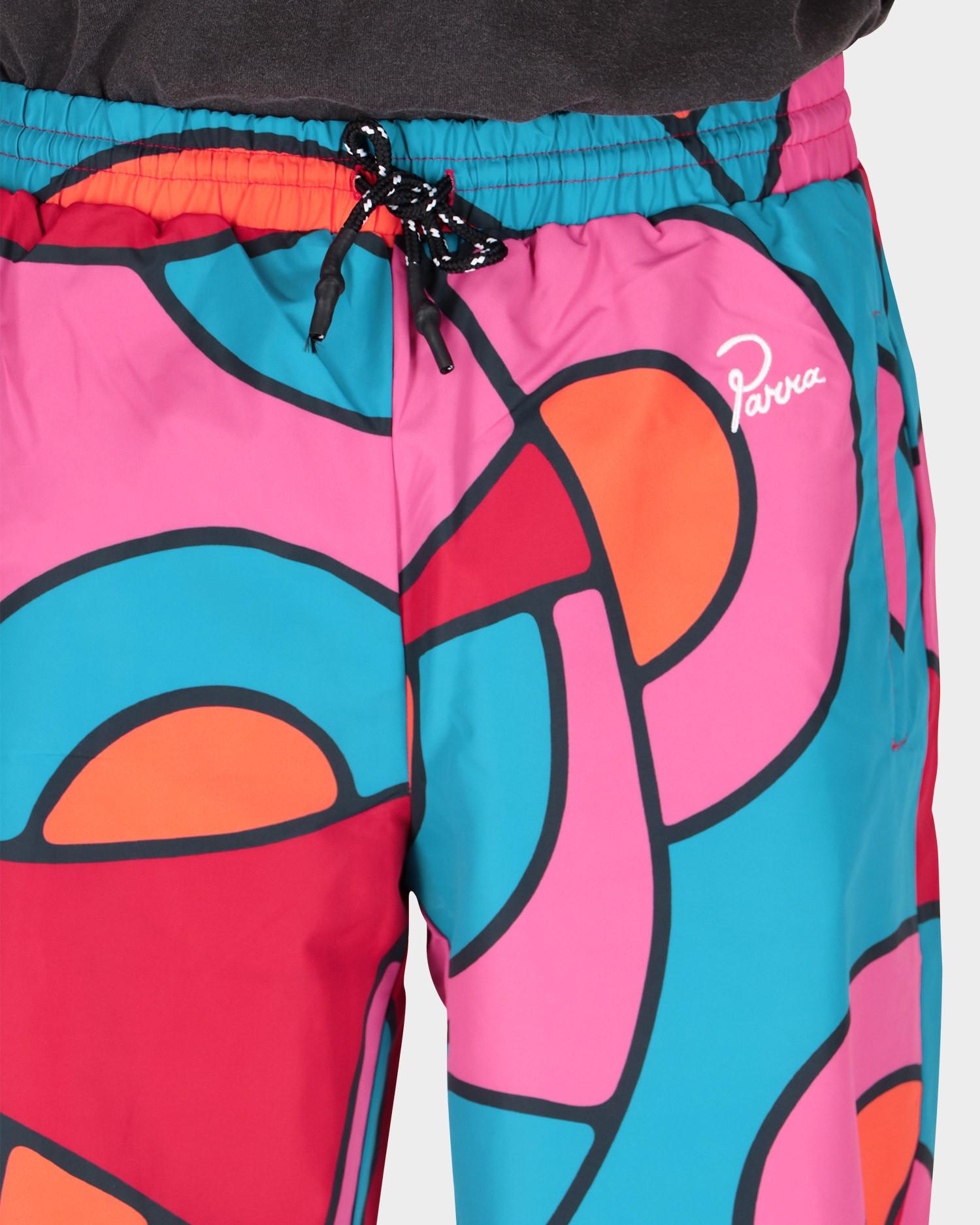 Parra serpent pattern track pants Multi