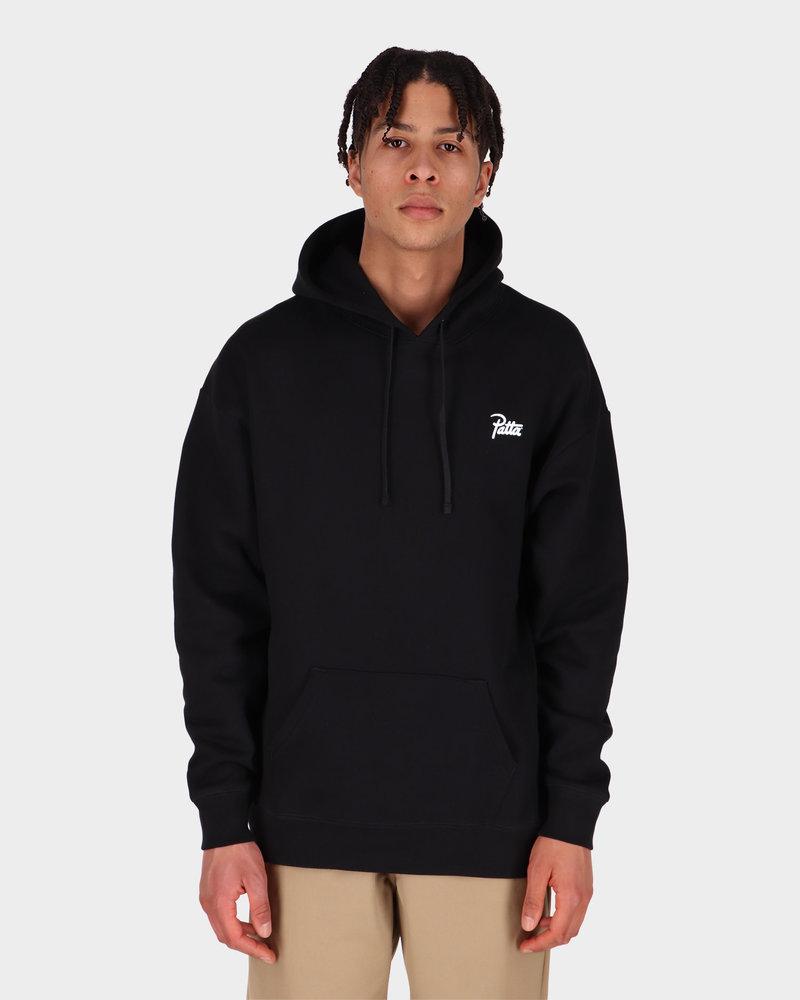 Patta Patta Basic Summer Hooded Sweater Black