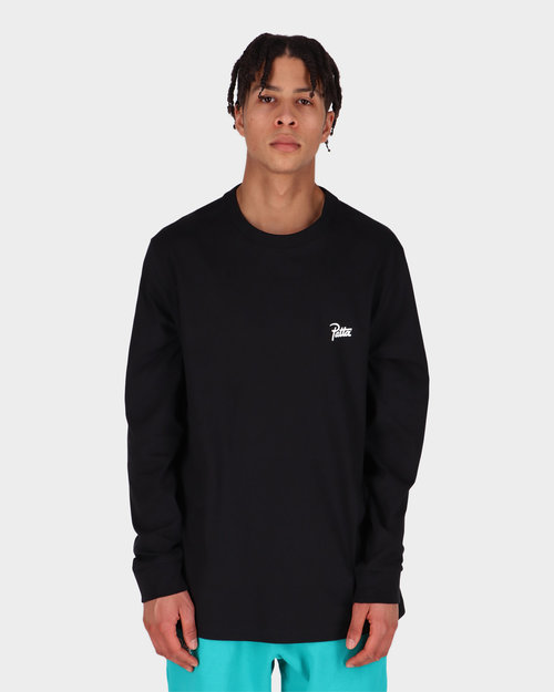 Patta Patta Basic Longsleeve T-shirt Black
