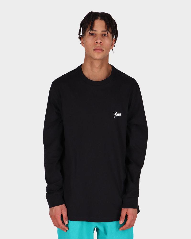 Patta Patta Basic Longsleeve T-shirt Black