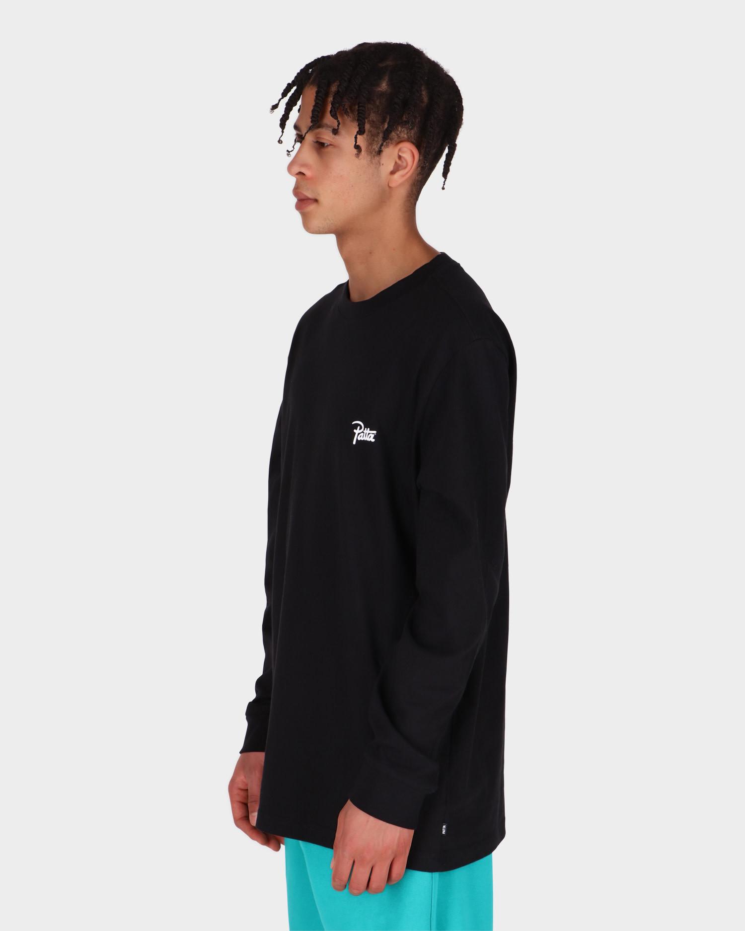 Patta Basic Longsleeve T-shirt Black