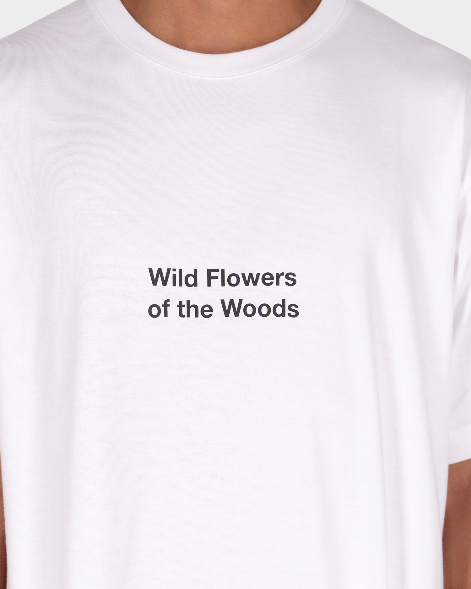 Patta Wild Flowers T-shirt White