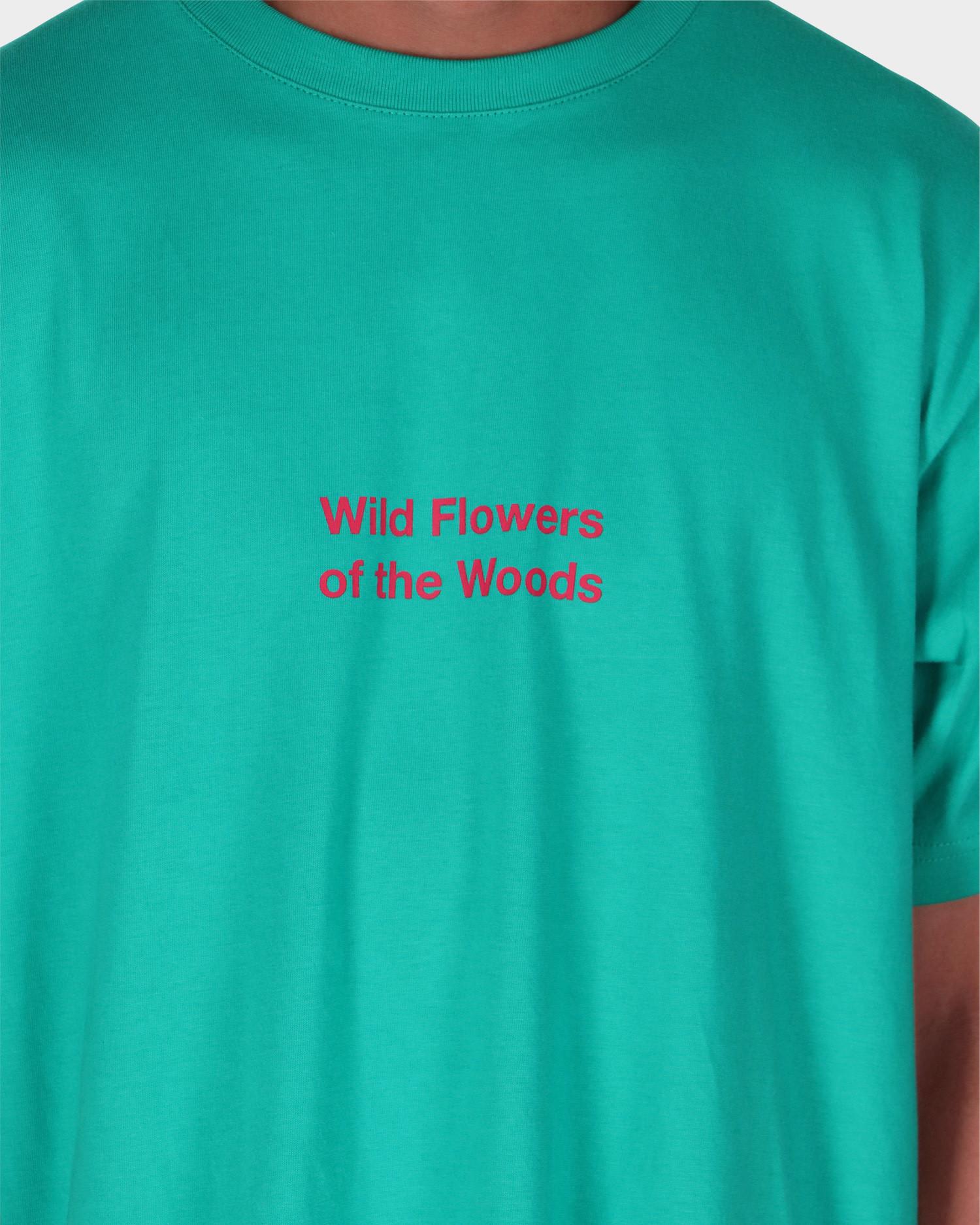 Patta Wild Flowers T-shirt Columbia