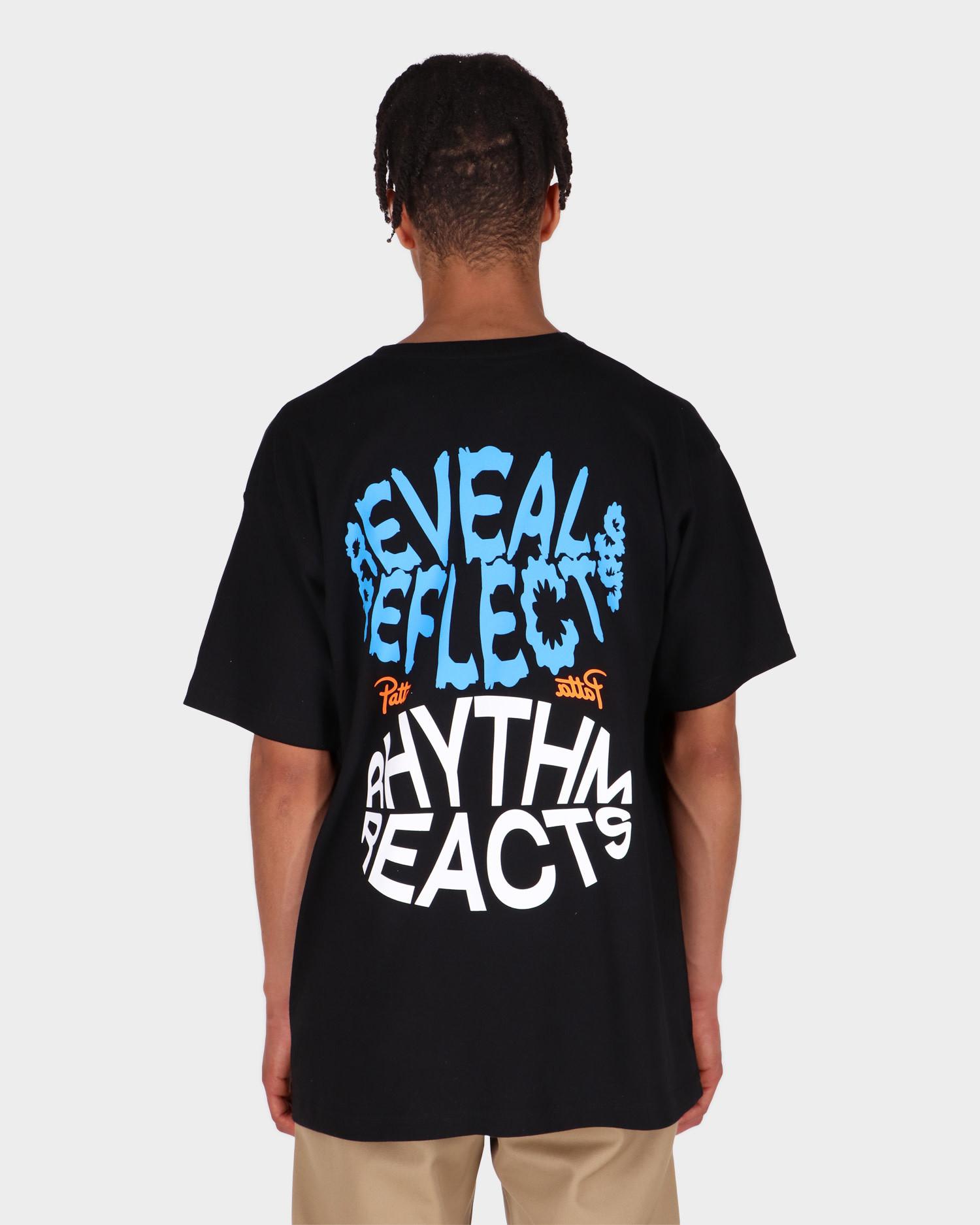 Patta Reveal Reflect T-shirt Black