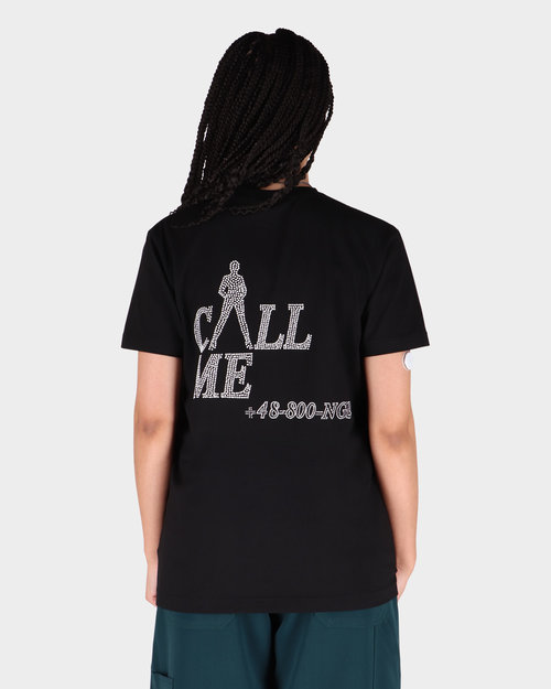 NEIGE Neige Call Me T-Shirt Black