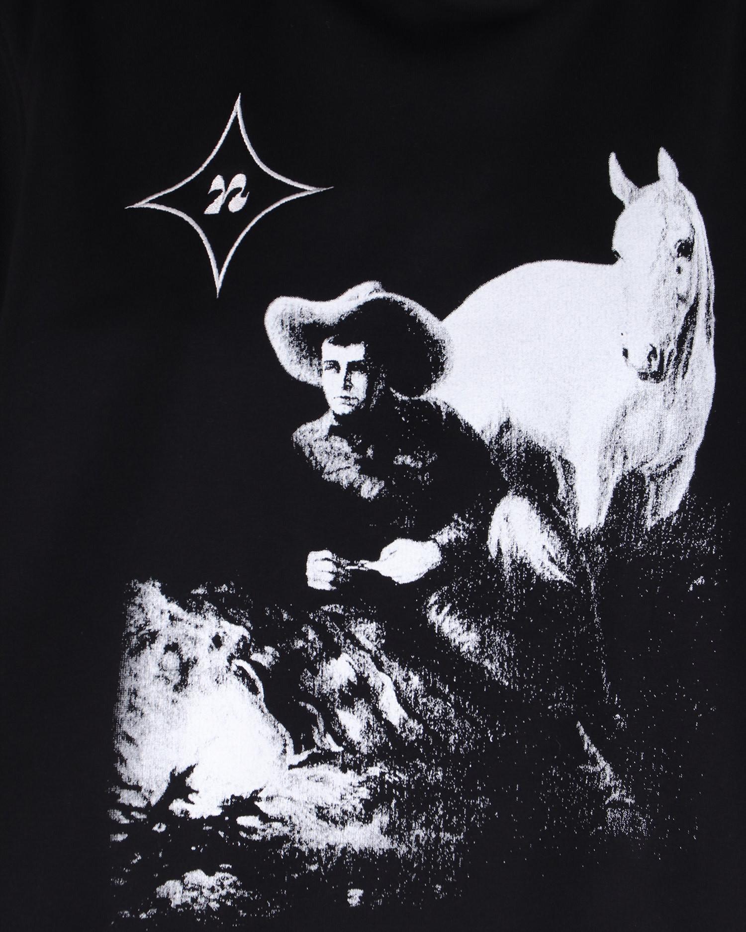 Neige Cowboy Hoodie Black
