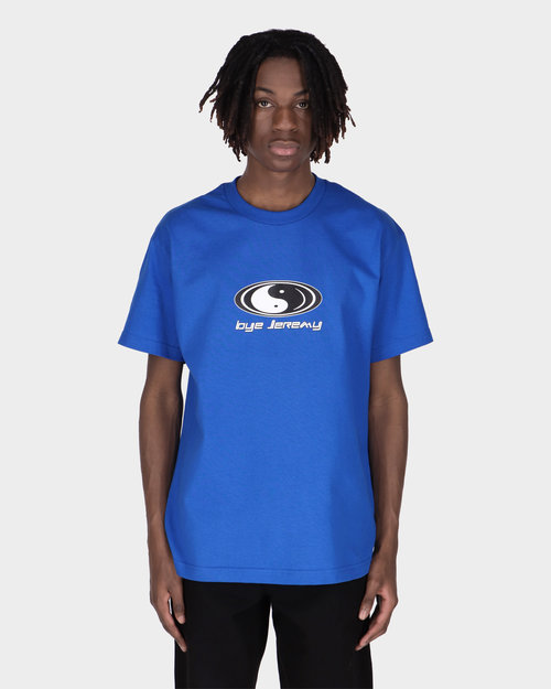 BYE JEREMY Bye Jeremy Royal Blue Ying Yang T-shirt