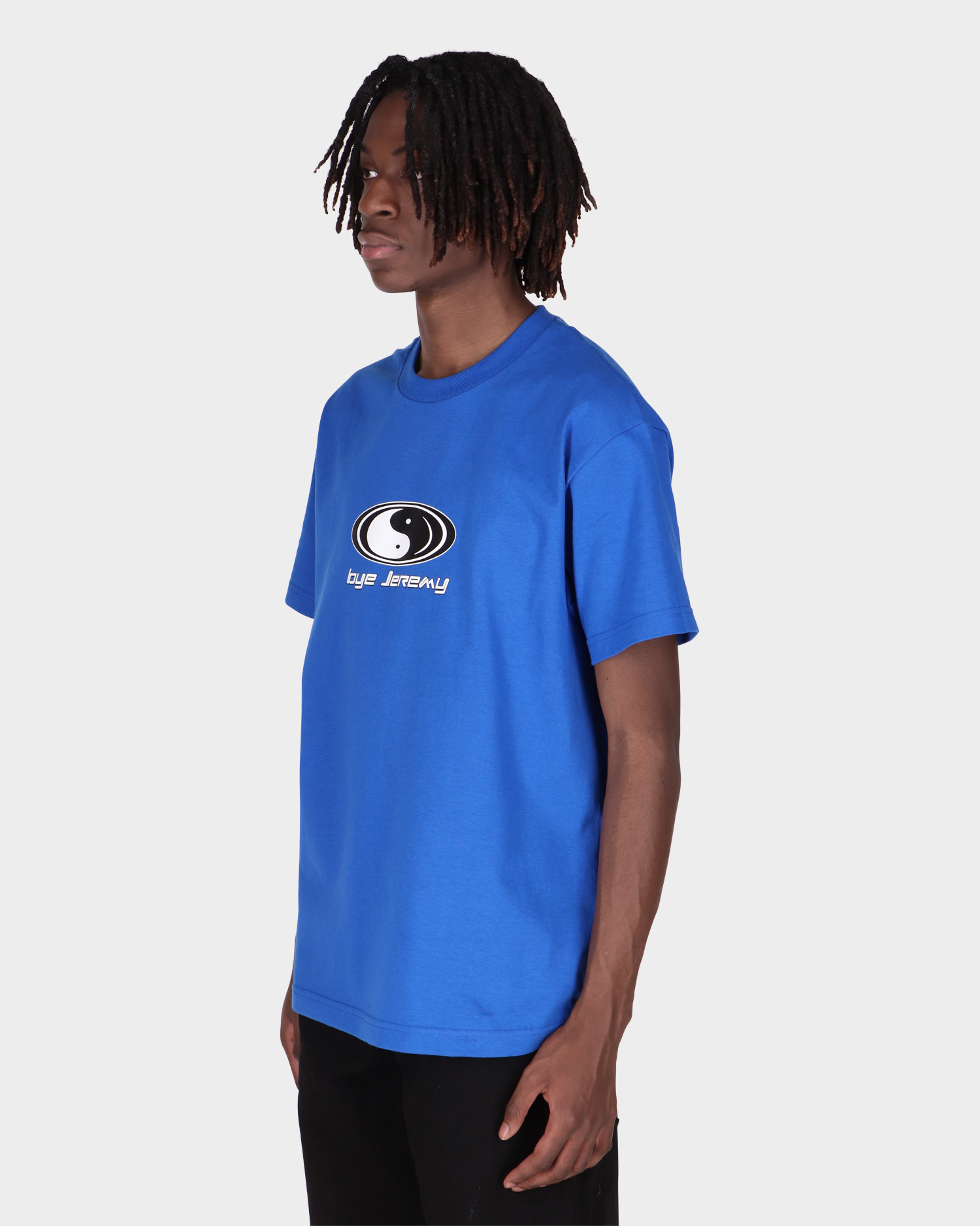 Bye Jeremy Royal Blue Ying Yang T-shirt