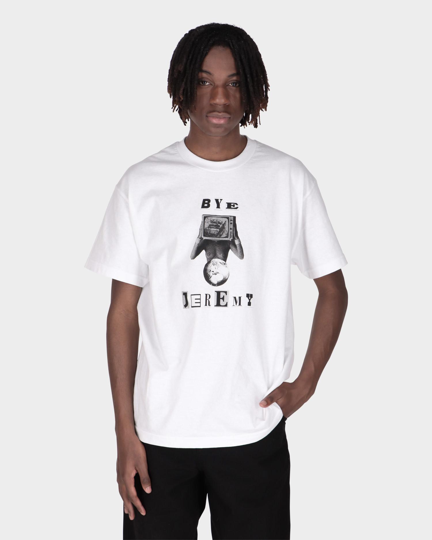 Bye Jeremy White Lenny T-shirt