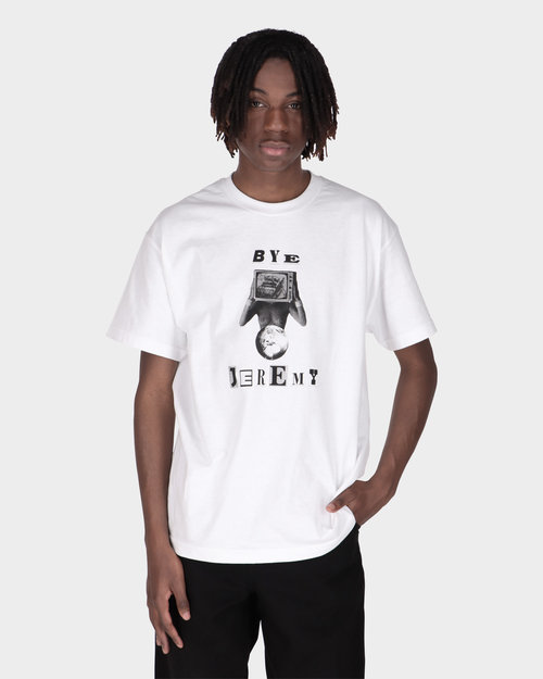 BYE JEREMY Bye Jeremy White Lenny T-shirt