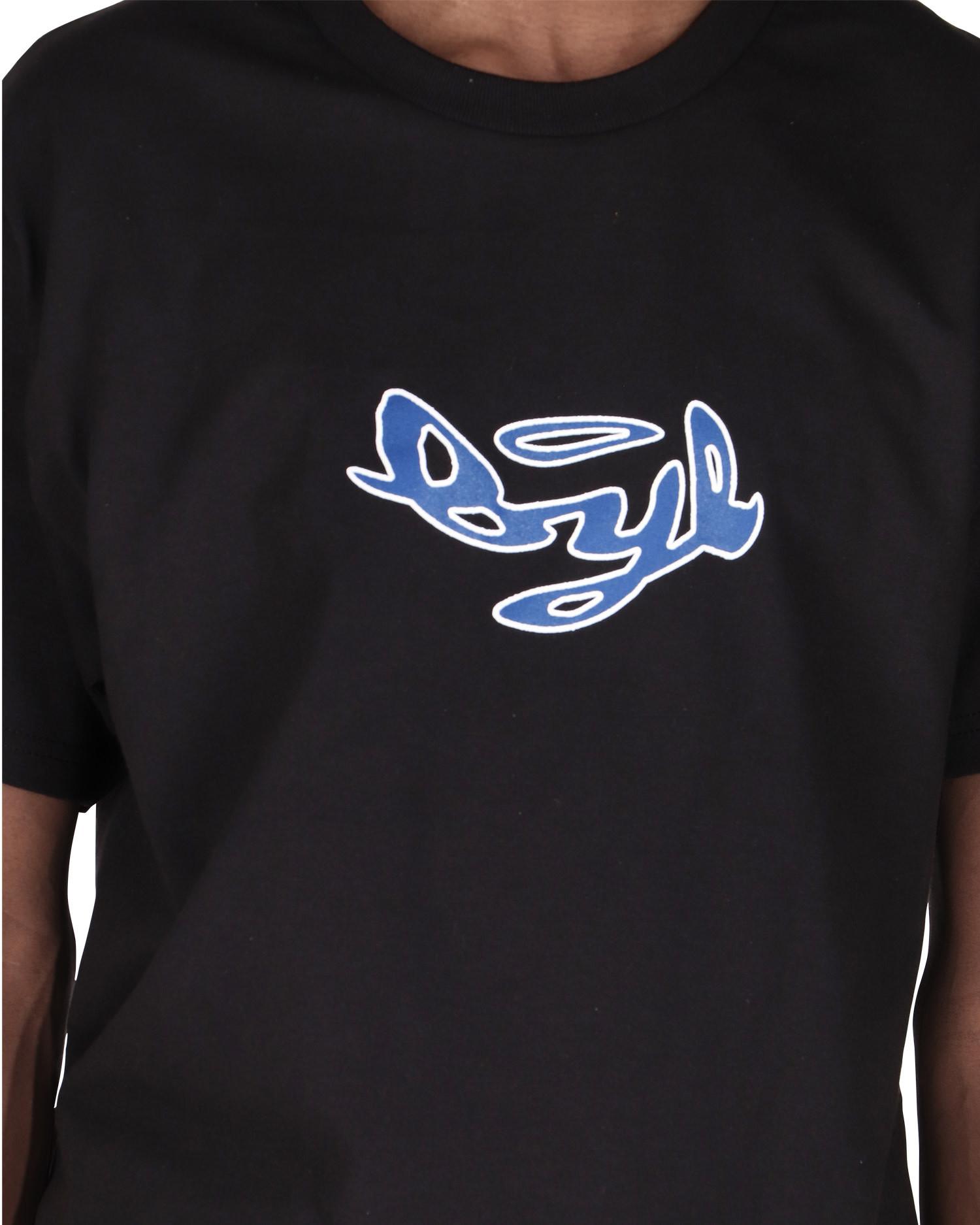 Bye Jeremy Blue And White Logo T-shirt