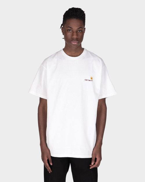 Carhartt Carhartt American Script T-shirt Organic White