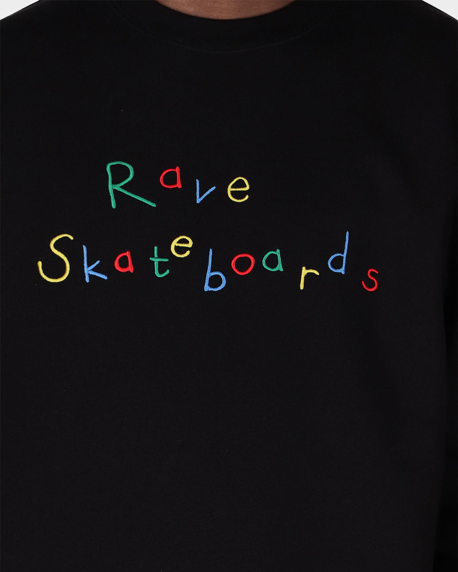 Rave Crewneck Recess Black