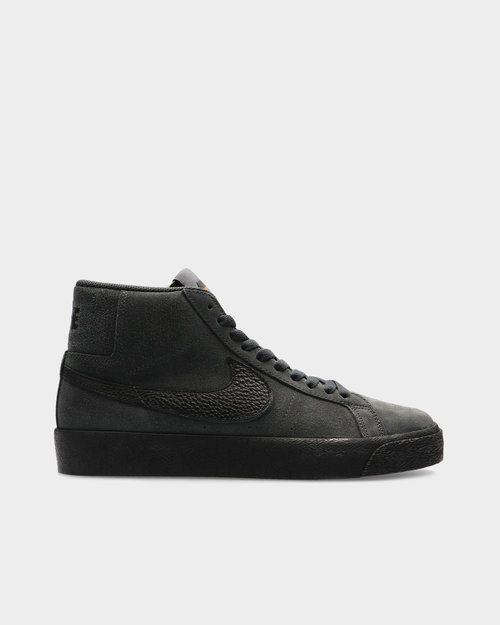 Nike Nike Sb Zoom Blazer Mid Orange Label Iso Dark Smoke Grey/Black-Dark Smoke Gey-Black