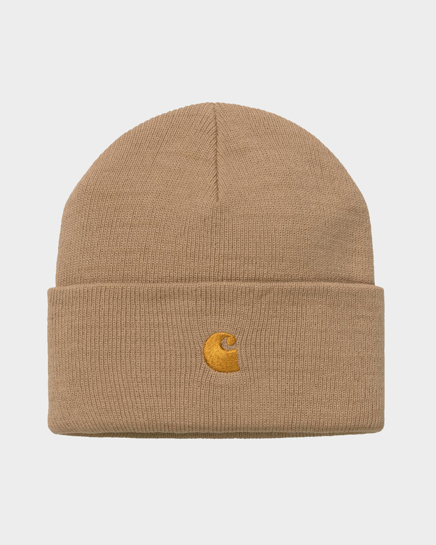 Carhartt Chase Beanie Acrylic Dusty H Brown/Gold